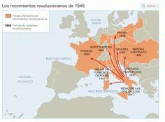 La oleada revolucionaria que recorrió Europa en 1820 : Afectó fundamentalmente al área mediterránea, más concretamente a España, Nápoles y Grecia. En los dos primeros estados fracasó la implantació…