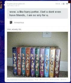 Harry Potter nerd and Friends...hilarious!