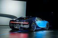 2017 Bugatti Chiron - 1500 horsepower beauty on wheels.