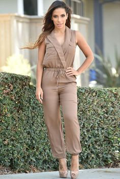 Newest Style 2017 Sexy V-Neck Club Party Bodysuit Women Romper Maroon/Taupe/Black Casual Jumpsuit LC60570 Enteritos Mujer