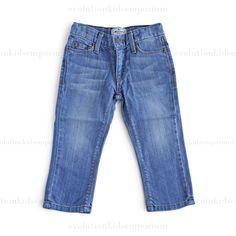 La Miniatura Vintage Light Indigo Straight Leg Jeans