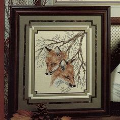 counted cross stitch wildlife patterns | Etsy mysweetiepiepie 1990 COUNTED CROSS STITCH Pattern Instruction ...