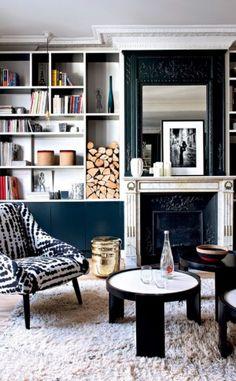 Vivid And Colorful Paris Apartment