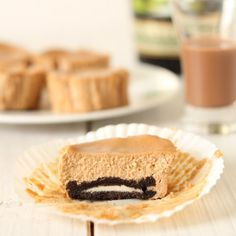 Baileys Irish cream cheesecakes made simple