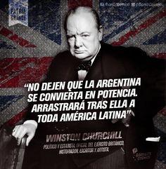 Winston Churchill, Ex Primer ministro del #ReinoUnido. #Imperialismo #Inglaterra #Argentina #PatriaSIColoniaNO #IndependenciaEconómica #PatriaGrande #Latinoamérica #AméricaLatina #AméricaLatinayelCaribe #Iberoamérica #Sudamerica // #Frases #Citas
