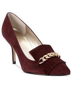 Ivanka Trump Shoes, Dinah Loafer Pumps - Shop Designer Pumps - Shoes - Macy's