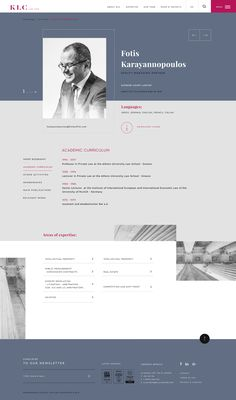 The aim of the project's design was to provide a great user experience, the company's reliability and expertise of the company in a friendly, pleasant and different from its rivals website. Web Design Tips, Web Design Company, Layout Design, Web Layout, Lawyer Website, Law Firm Website, Simple Website Templates, Website Ideas, Wordpress Website Design