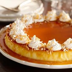 I cannot wait to try to make this one! Creamy Coconut Flan