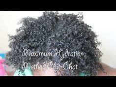 POPPIN TYPE 4 HAIR CURLS ! MAXIMUM HYDRATION METHOD CHIT CHAT josoanani first impression of the maximum hydration method