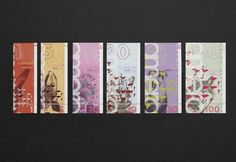 Graphic Design Class Assignment Inspiration: Amero Currency Design by Nick DAmico, via Behance