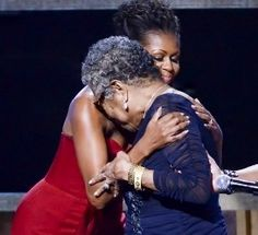 My two favorite people: Maya Angelou and Michelle Obama