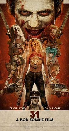 Directed by Rob Zombie.  With Malcolm McDowell, Richard Brake, Jeff Daniel…Typical Rob Zombie movie. Nice but nothing special