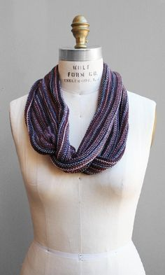 Space Dyed Infinity Scarf  www.shopsubstance.com