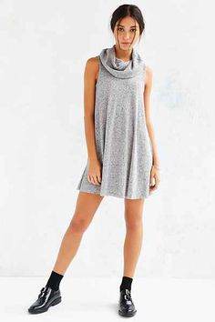 a5c364fb535 BDG Cowl-Neck Swing Dress