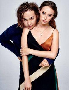 Frank Dillane and Alycia Debnam-Carey