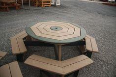 poly octagon table ww-green2bg.jpg 800×533 pixels