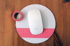 Washi Your Workspace: 8 Quick DIY Projects via Brit + Co