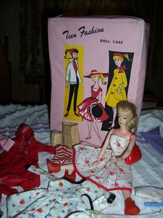 VINTAGE,1960's,TEEN FASHION,PRE BARBIE DOLL,
