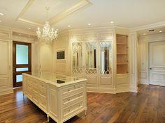 Dream closet, hands down. #closet #extravagant #fancy #dressingroom