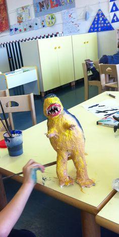Il Tyrannosaurus tex è quasi terminato.