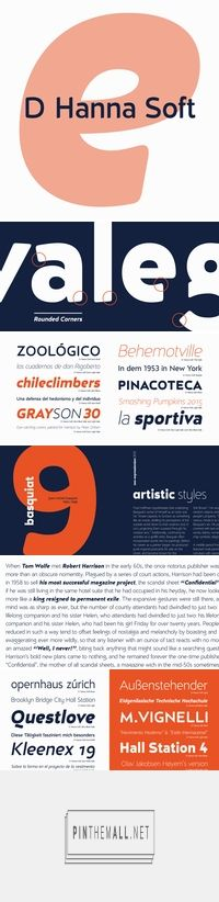 D Hanna Soft - Webfont & Desktop font « MyFonts... - a grouped images picture - Pin Them All