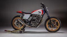 RocketGarage Cafe Racer: Honda Ascot FT500 Tracker
