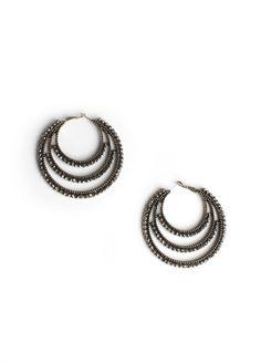Tripled Tiered Earrings $18