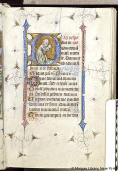 Book of Hours, MS M.866 fol. 51r - Images from Medieval and Renaissance Manuscripts - The Morgan Library & Museum
