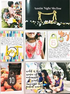 Rainbow Scrapbooks: Cocoa Daisy Crafting Kits + Video   Sprinkles November 2016