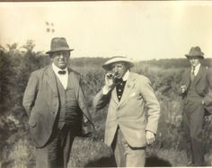 "Having a smoke. ""The Jenle festival"" 1921"