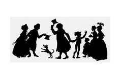Your Spirit Animal, Silhouette Images, All Poster, Posters, High Art, Christmas Carol, Christmas Tea, Victorian Christmas, Cool Paintings
