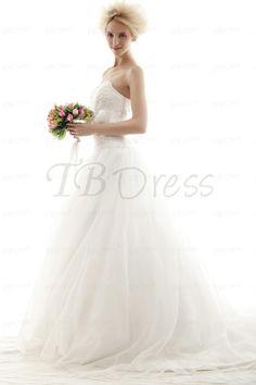 Amazing Ball Gown Sweetheart Chapel  Nastye's Wedding Dress for Brides