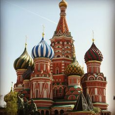 St Basil's - my favorite tourist site in Moscow