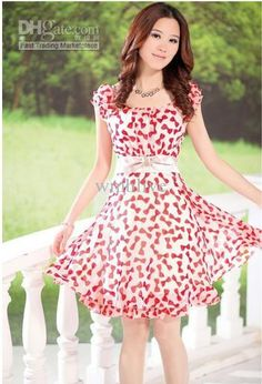 Free Shipping Spring Plus Size floral Print Pastoral wind floral loose Dress