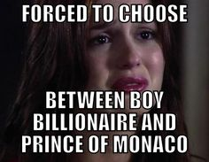 Blair Waldorf problems..... @Brooke Jones