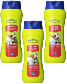 FURminator Itch Relief Ultra Premium Shampoo, 16-Ounce Bottles(3 Pack) *** For more information, visit image link. (This is an affiliate link and I receive a commission for the sales)