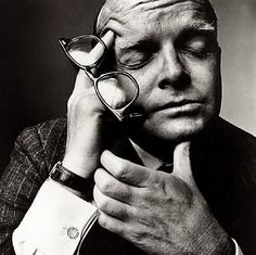 Truman Capote by Irving Penn (NY - 1965)