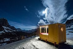 Tiny Starlight Room in the Dolomites  , - ,   At an altitude o...