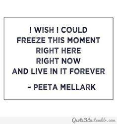 #hungergames #peeta #maytheoddsbeeverinyourfavor #love