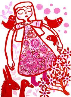 madeline stamer lovely illustrator