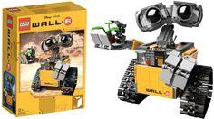 Wall-E en Lego, c'est dispo et ça a la classe