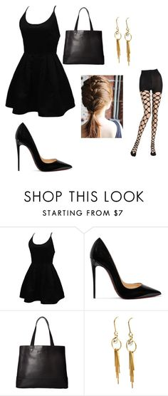 """""""Outfit #2"""" by didntseethatcoming on Polyvore featuring WithChic, Christian Louboutin, SOREL and Emilio Cavallini"""