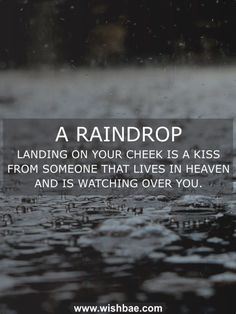 Best of Rain Quotes for Rain Lovers. Enjoy this monsoon with romantic, funny, beautiful quotes about rain and raindrop quotes. Funny Rain Quotes, Love Rain Quotes, Romantic Rain Quotes, I Love Rain, Sarcasm Quotes, Bff Quotes, Mood Quotes, Positive Quotes, Bliss Quotes