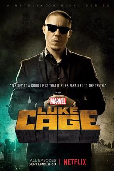 "Luke Cage Poster "" SHADES "" Tv Series Silk POSTERS Room Decor 12x18"" lCg6     eBay!"