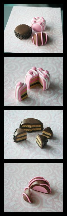 Doll accessory---Fimo Cakefest.: by ~Shiritsu on deviantART
