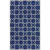 Found it at AllModern - Capri Navy Moroccan Tile Outdoor Rug
