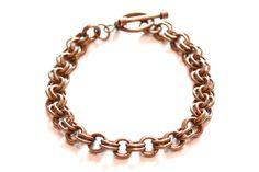 2 in 2 Bronze Bracelet by Gibbtall on Etsy, $20.00