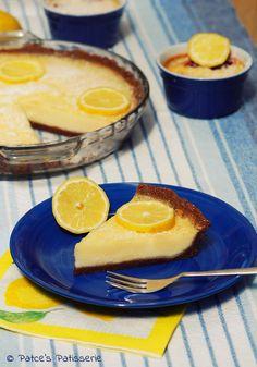 Zitronen-Buttermilch-Tarte [denn: Jeden Tag eine gute Tarte!]