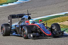Fernando Alonso (ESP) McLaren MP4-30.Formula One Testing, Day One, Sunday 1st February 2015. Jerez, Spain.
