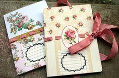 delicate, handmade, journal, notebooks, patterns, pretty